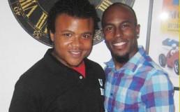 Photo of two black gay men