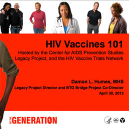 HIV Vaccines slideshow cover