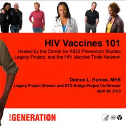 HIV Vaccines slideshow cover