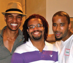 Three men of color